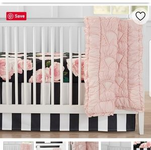 PB Bed of Rose's Fitted Crib Sheet